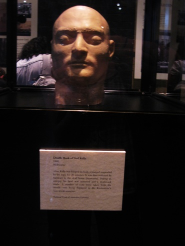 Death Mask Ned Kelly